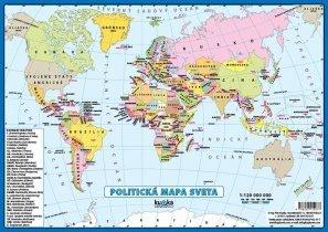 Politická mapa sveta A4
