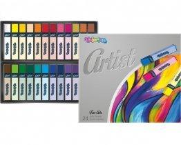 COLORINO Art pastelky 24 farieb