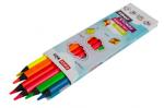 Trojhranné pastelky NEON 6 farieb, 5 mm