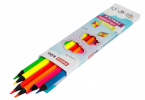 Trojhranné pastelky NEON 6 farieb, 3 mm
